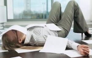 трудоголизм вреден для здоровья!