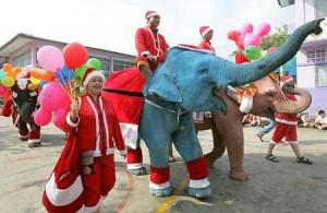 Новый год 2012 в Тайланде