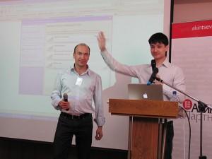 Александр Евстегнеев и Азамат Ушанов