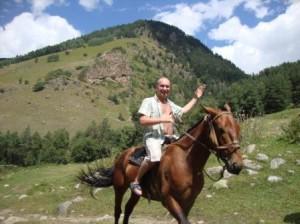 Джамагатское ущелье и Я на коне