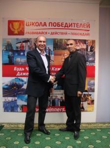 Александр Евстегнеев и Сергей Азимов