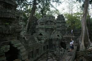 Встречаем рассвет в Камбоджи