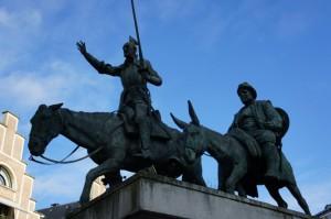 Дон Кихот и Санча