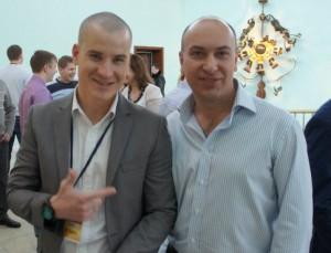 Алексей Толкачев и Александр Евстегнеев