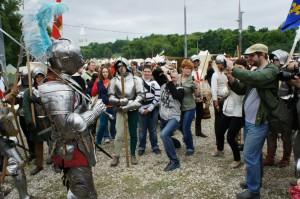рыцари в Коломенском