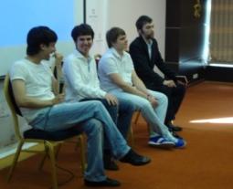 Азамат Ушанов, Юсуф Губайдуллин, Евгений Смирнов и Андрей Беляков