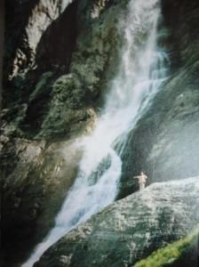 Водопад, Домбай