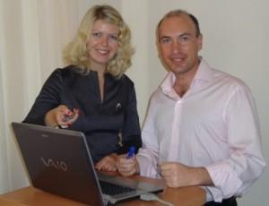 Юлия Щедрова и Александр Евстегнеев