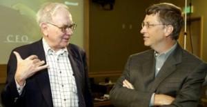 Уоррен Баффет и его друг Билл Гейтс