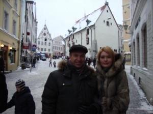 Начало экскурсии по Таллинну