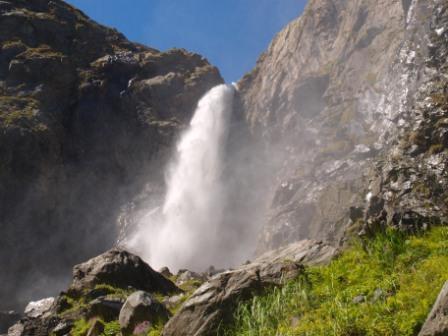 Водопады Домбая