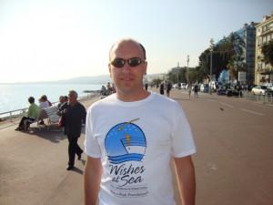 Английская набережная в Ницце (promenade des Anglais)