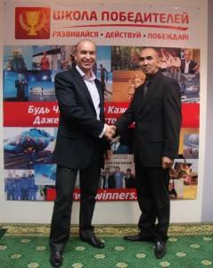 Сергей Азимов и Александр Евстегнеев