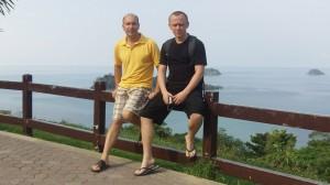 Александр Евстегнеев и Игорь Осипенко