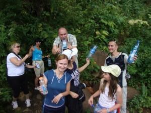 целительная вода Домбая