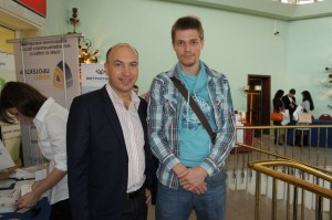 Александр Евстегнеев и Никита Королев