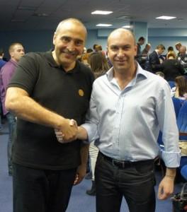 Владимир Довгань и Александр Евстегнеев